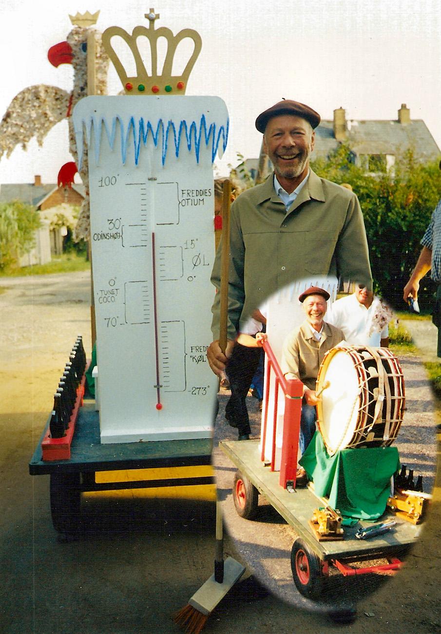 Fuglekonge 2001 – Freddy Køl Petersen